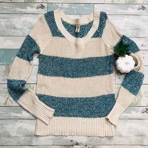 Roxy Striped Knit Sweater